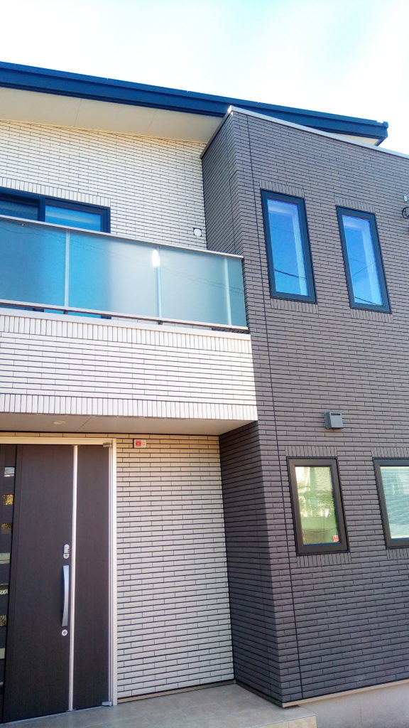一条工務店i-smartわが家にも採用した外壁ハイドロテクトタイル♪