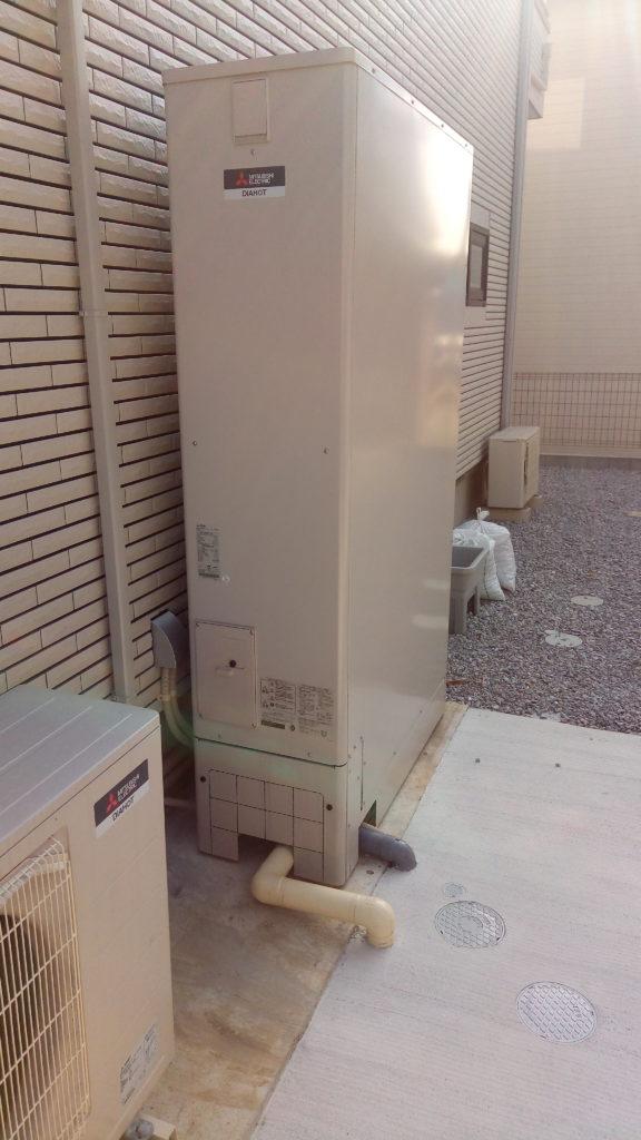 一条工務店i-smartのわが家に採用したエコキュート変更(三菱電機)一般地域用