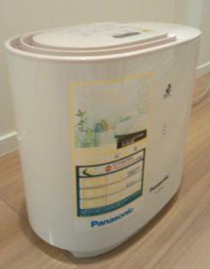 一条工務店i-smartわが家のサブ加湿器(パナソニックFE-KFJ03)