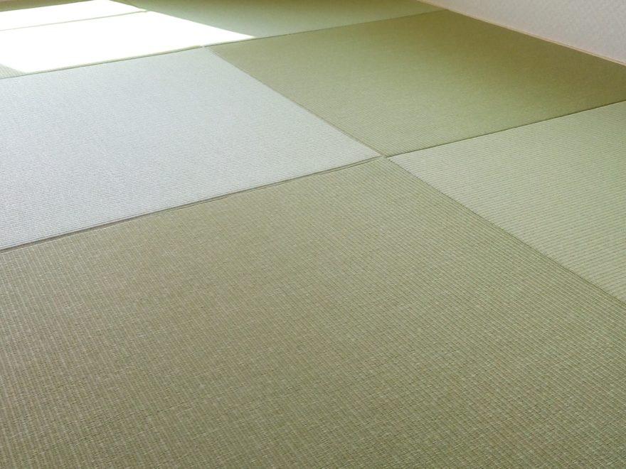 わが家に採用した半畳タタミワカクサ