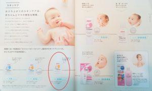 ピジョンの赤ちゃん用スキンケアシリーズ