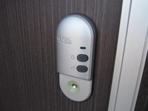 玄関ドア用電子リモコンキー(UBリーガル)