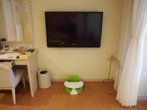 テレビも壁掛けで安心