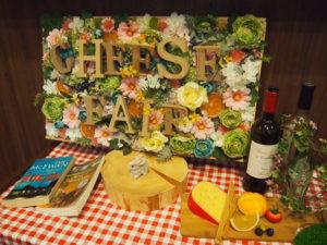 チーズフェアが開催されていました!
