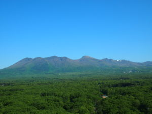 那須高原の景色を一望