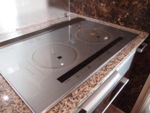 調理面の横幅が75cmにアップ!