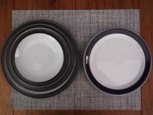 Denbyのプレート皿