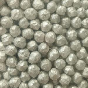 マグネシウム粒の表面