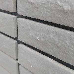 外壁ハイドロテクトタイルの傷・汚れ