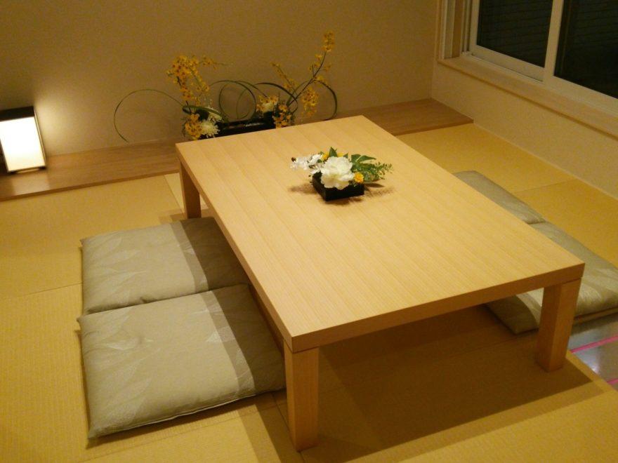 展示場に採用されていた半畳コガネ(黄色)