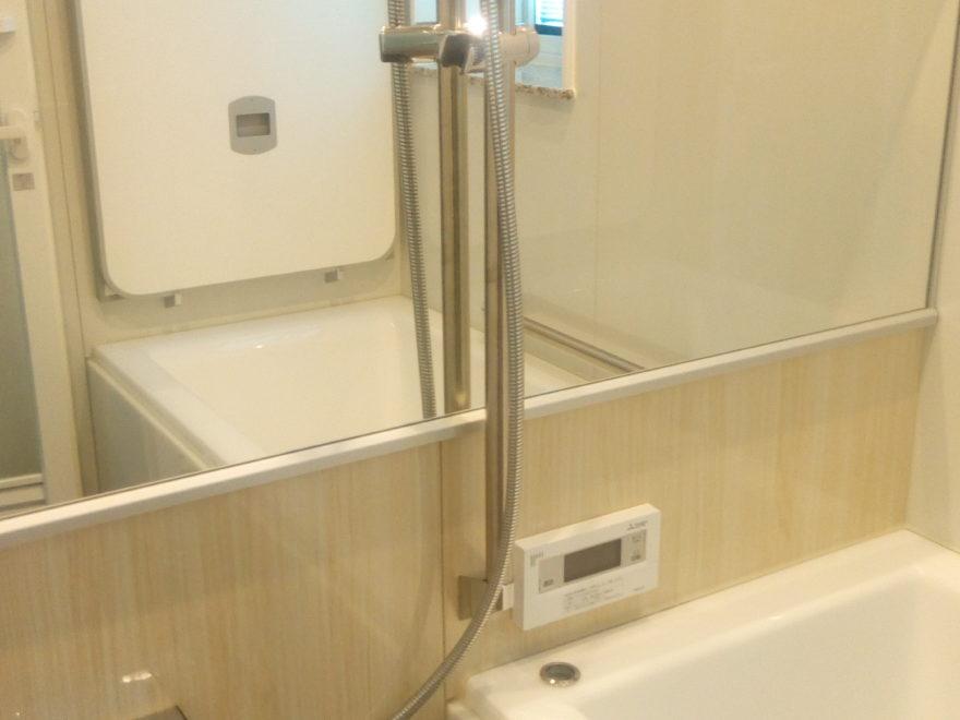 鏡やシャワー固定手すりなどで構成されています。