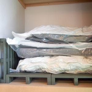 布団圧縮袋で収納スペースがすっきり!