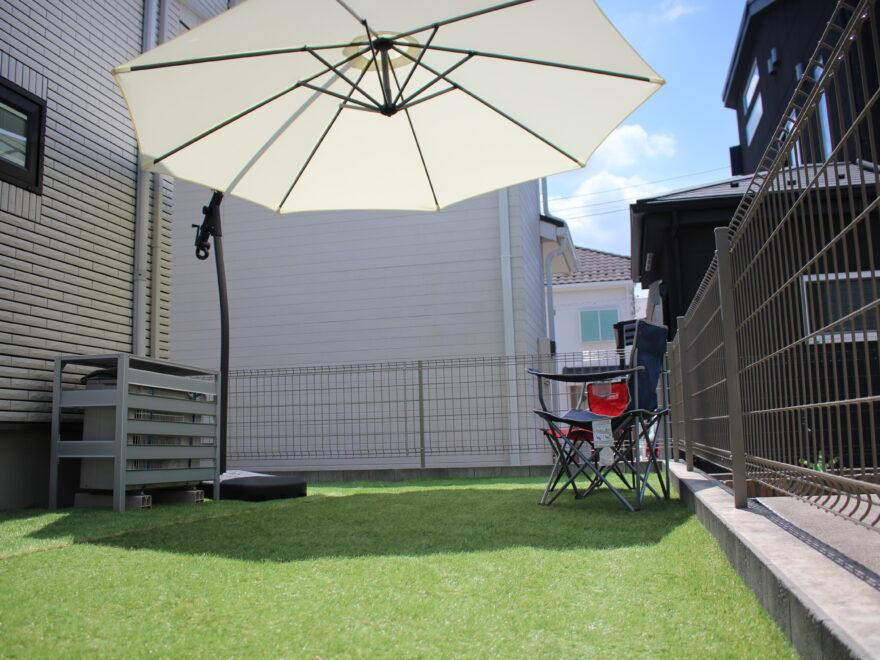 自立式ガーデンパラソル